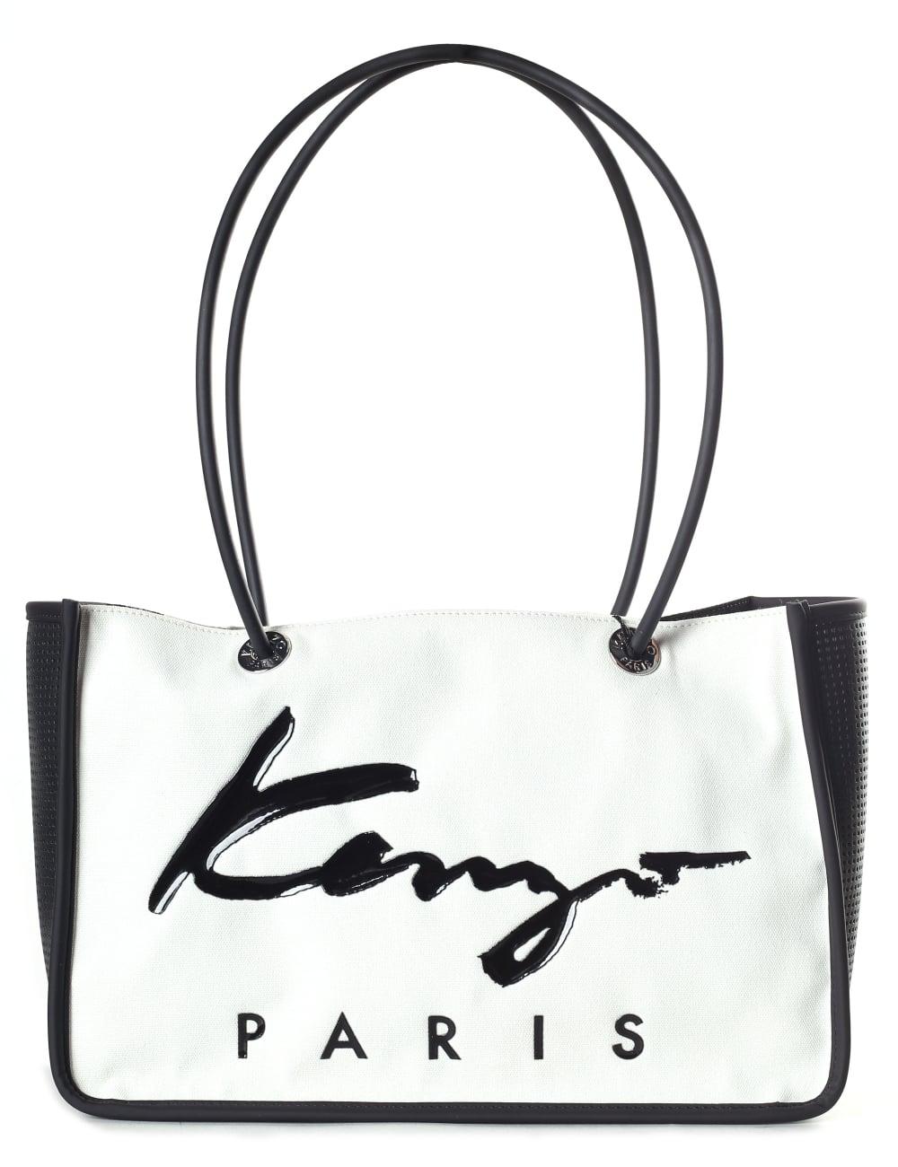 48fc591195a Kenzo Women's Small Tote Bag White