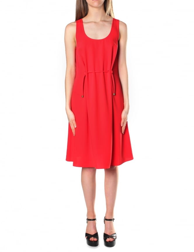 Kenzo Women's Tie Waist Midi Dress