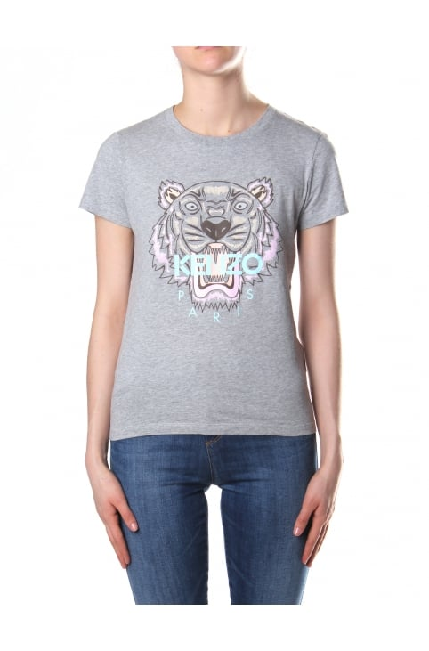 Women's Tiger Tee Dove Grey