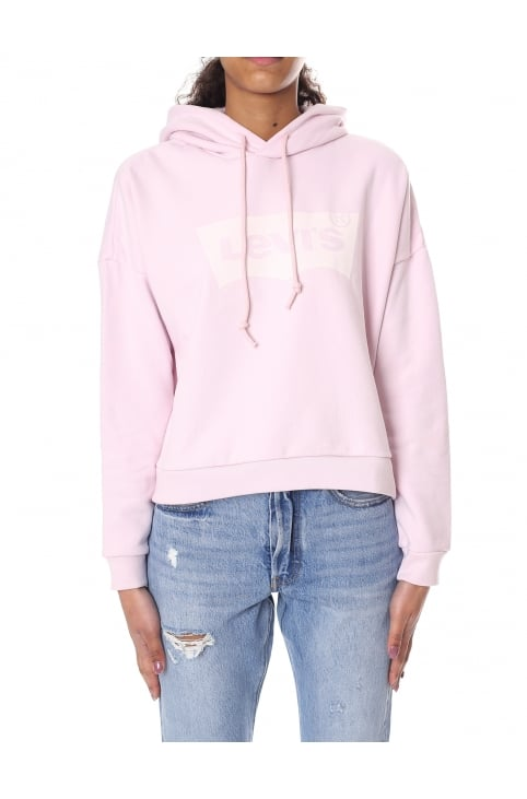 Cropped Women's Graphic Hoodie