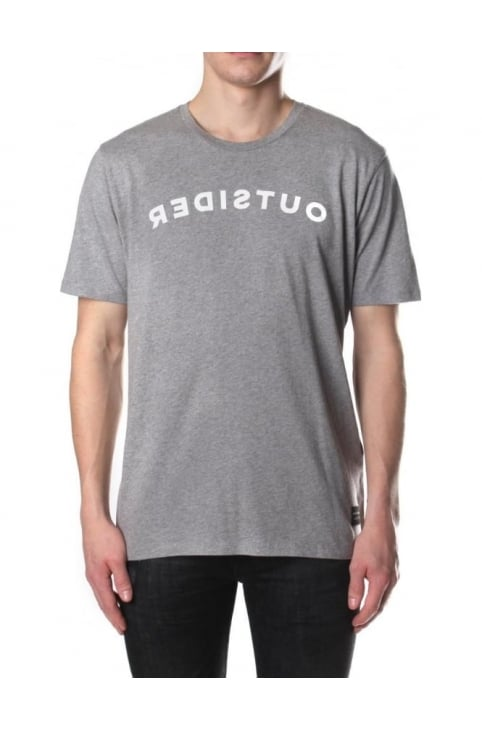 Line 8 For Everyone Men's Outsider Tee Drizzle Heather