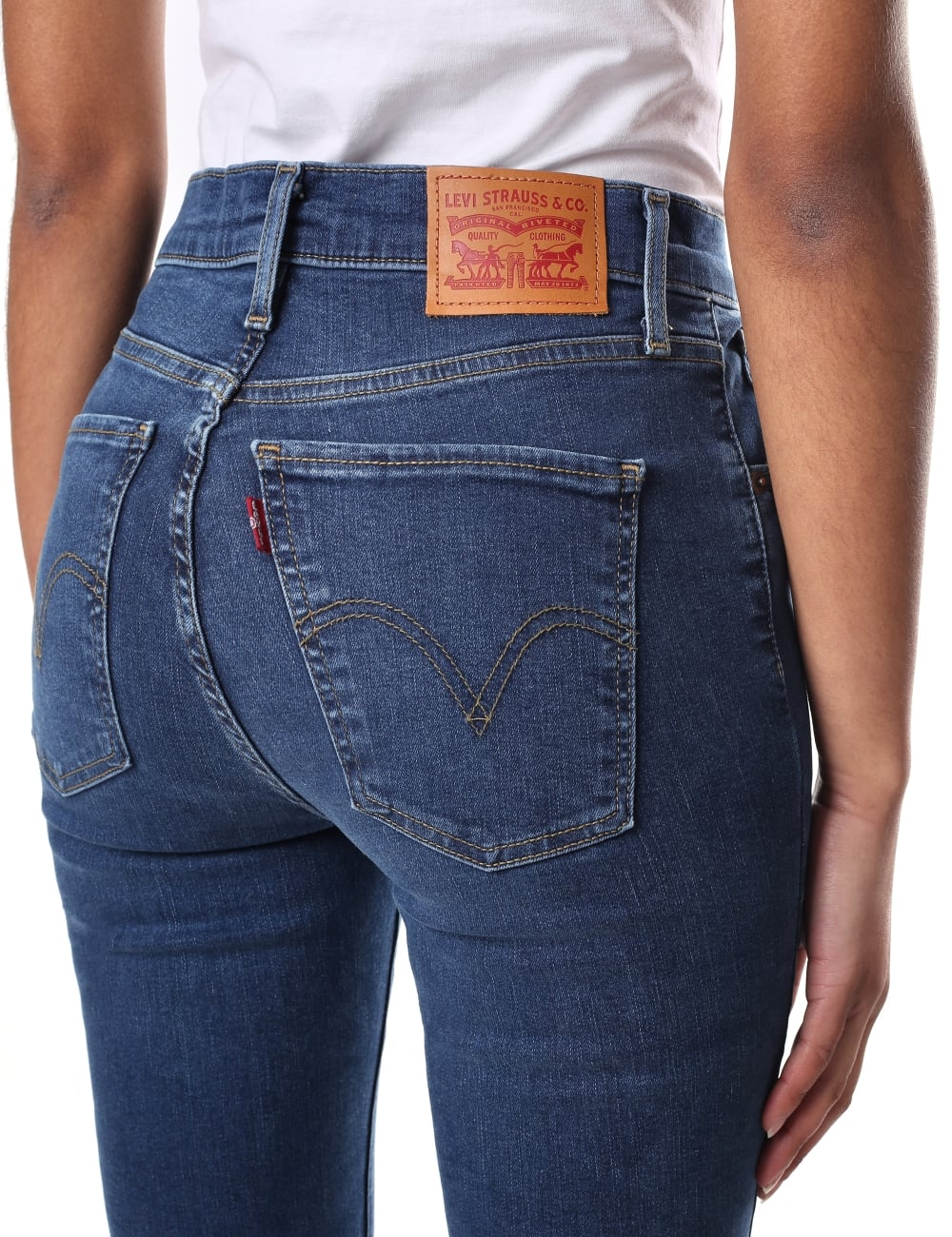 a02d59cdae5 Levi s Mile High Women s Hypersculpt Super Skinny Jean