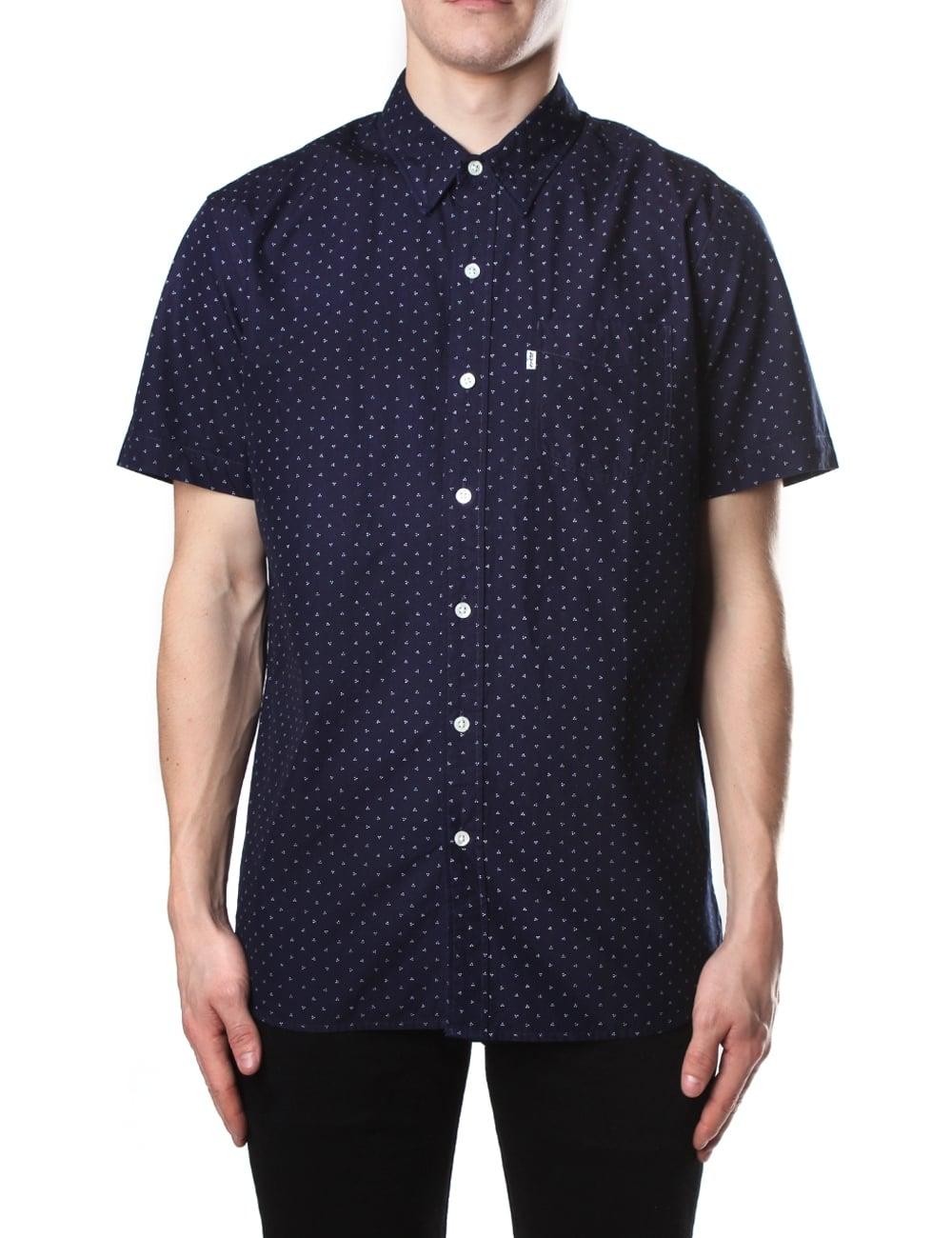 Levis Sunset Shirt The T One Pocket True Blue 65824 0337 Levi S Short Sleeve Men
