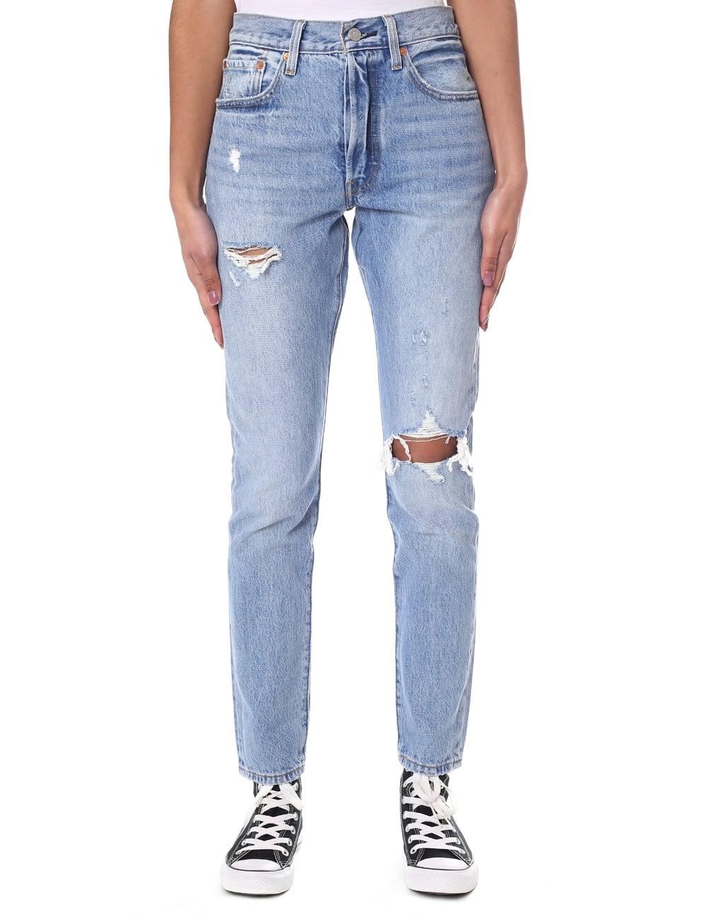 Levi S Skinny Fit Women S 501 Jean