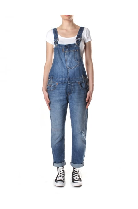 Women's Heritage Overalls Gold Rush Blue