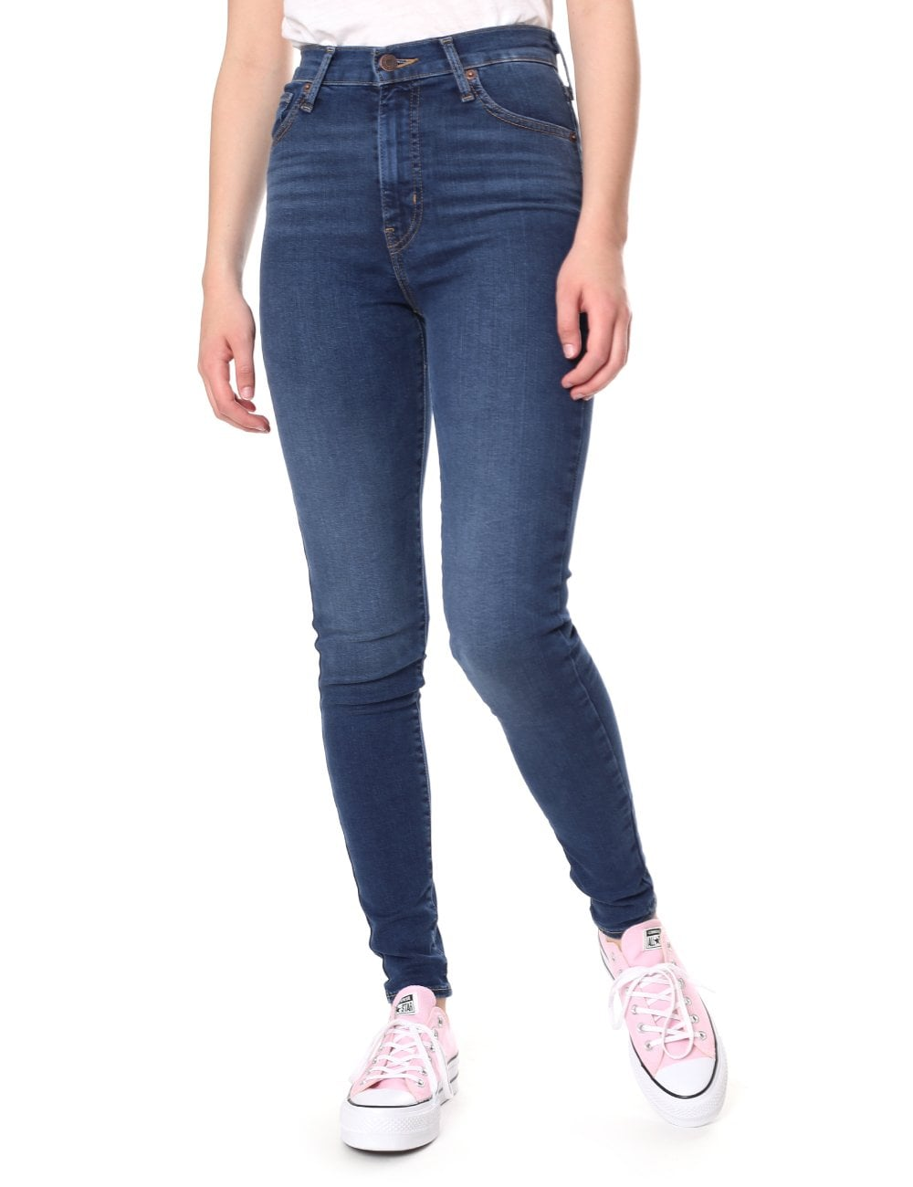 a306530f730 Levi s Women s Mile High Super Skinny Jeans