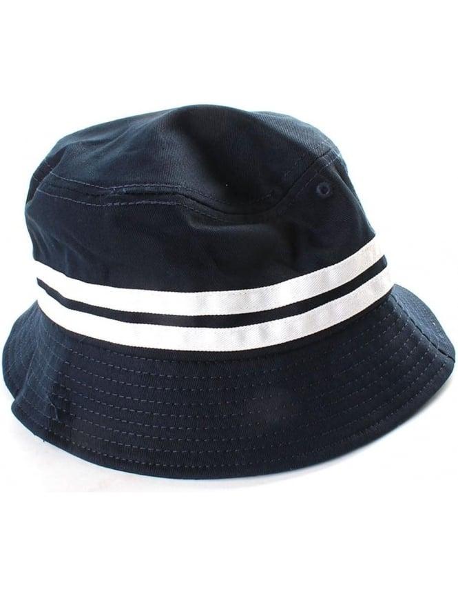 60123861 Ellesse Lorenzo Twin Stripe Men's Bucket Hat Navy