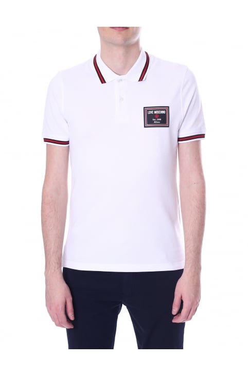 Men's Slim Fit Short Sleeve Polo Top