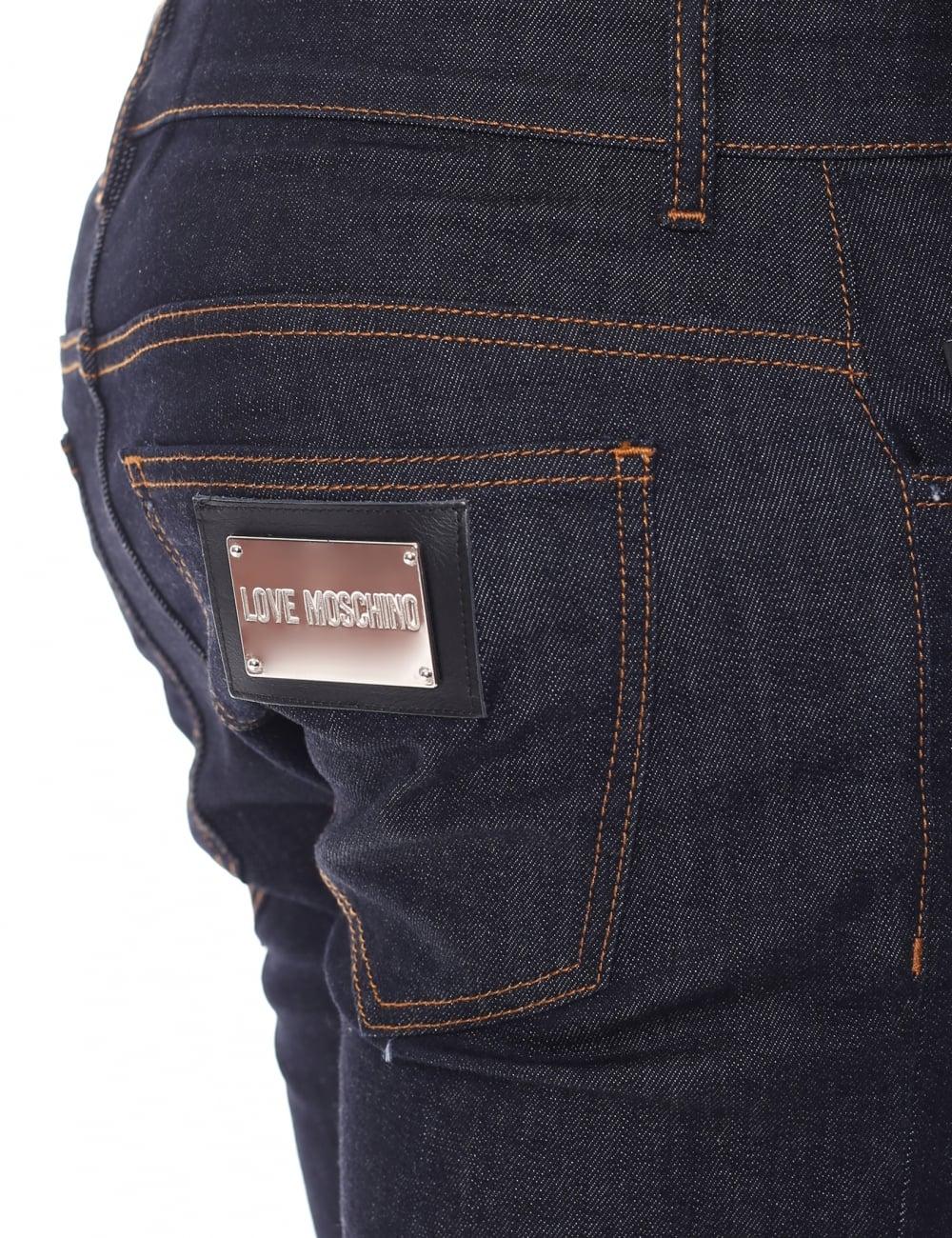 171a09d44a Love Moschino MQ421 Men's Slim Fit Jeans