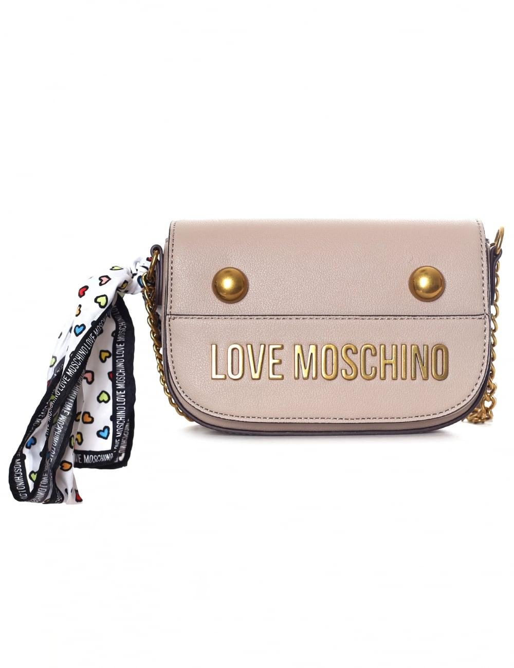 63c58f861a Love Moschino Studded Women s Crossbody Chain Bag