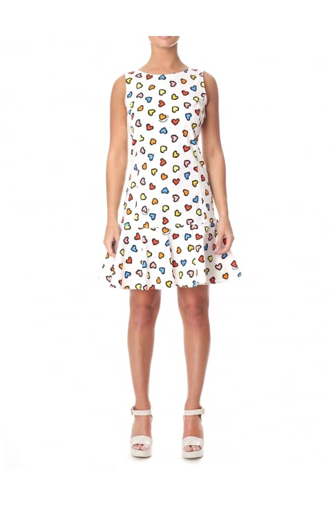 Women's Multi Colour Heart Dress