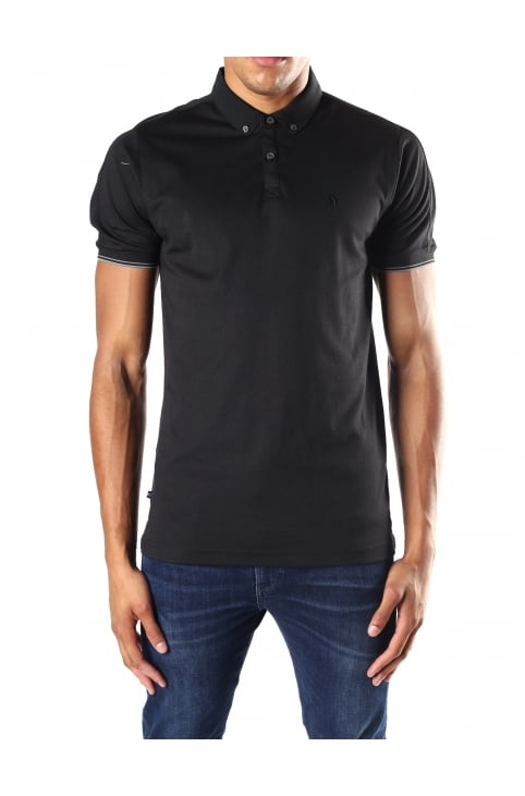 Men's Badge Logo Polo Top