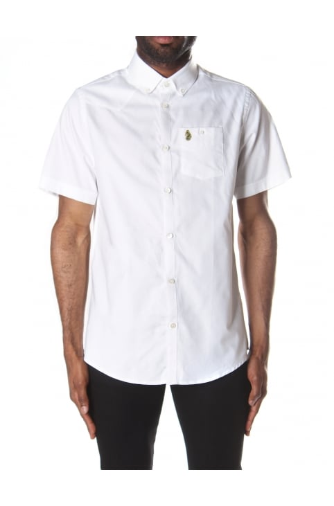Men's Jimmy Travel Button Down Collar Short Sleeve Shirt