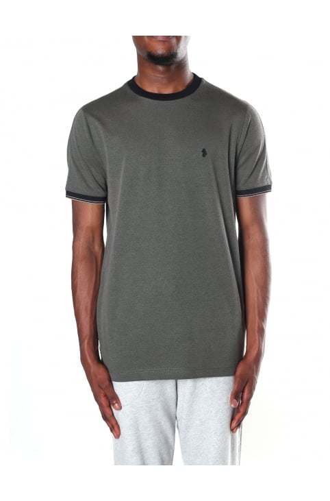 Men's Lenny Badge Detail Crew Neck Tee