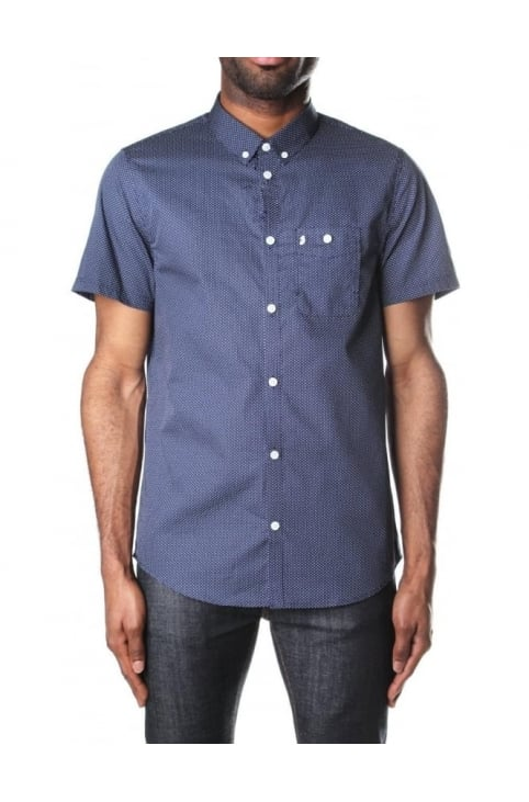 Men's Little Ronnie Short Sleeve Printed Shirt