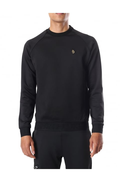 Men's Long Sleeve Tape Detail Crew Neck Sweat