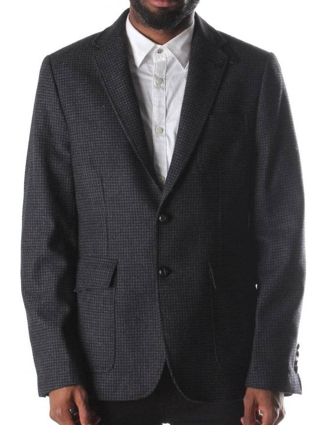 Luke 1977 Squire Men's Blazer Jacket Black