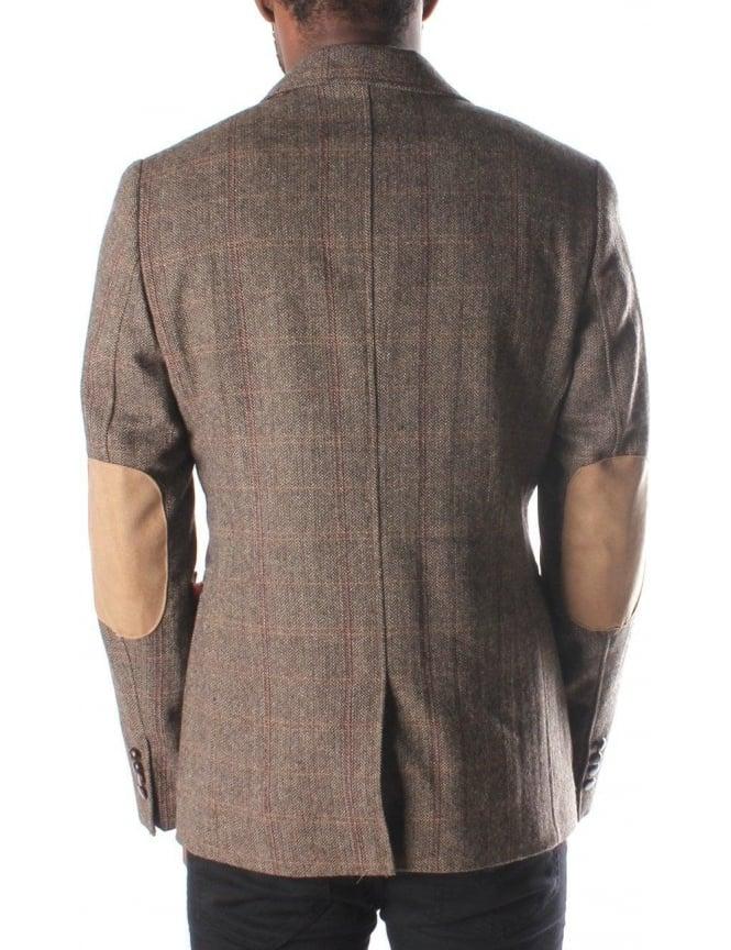 Luke 1977 Squire Men s Blazer Jacket Brown 64cb5d42e