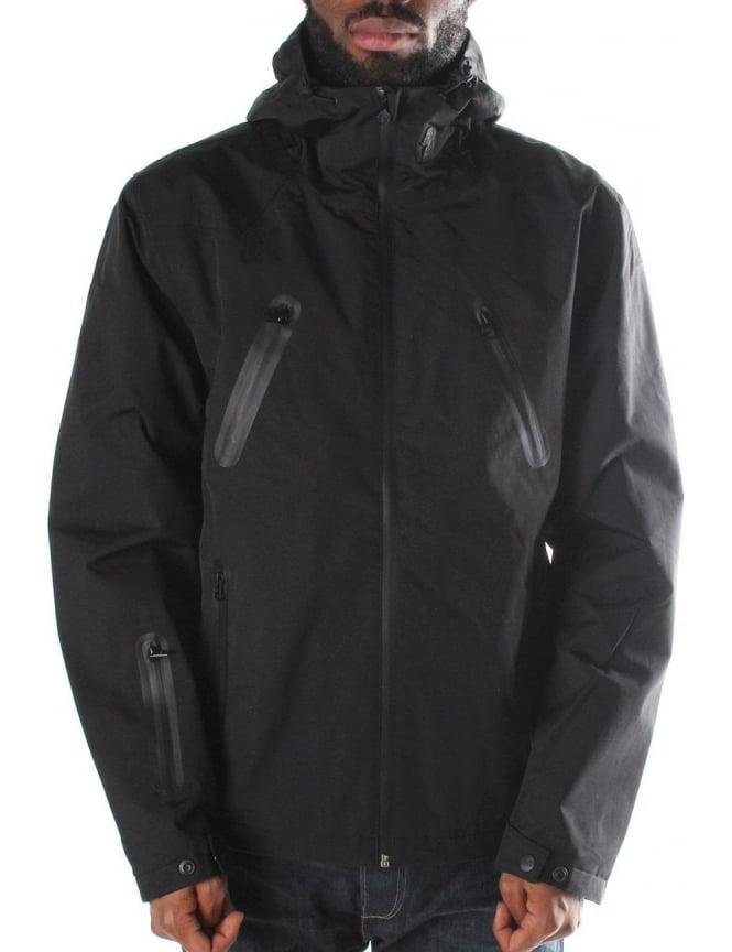 best loved 50% price size 7 Luke 1977 Submarine Doors Men's Technical Jacket Jet Black