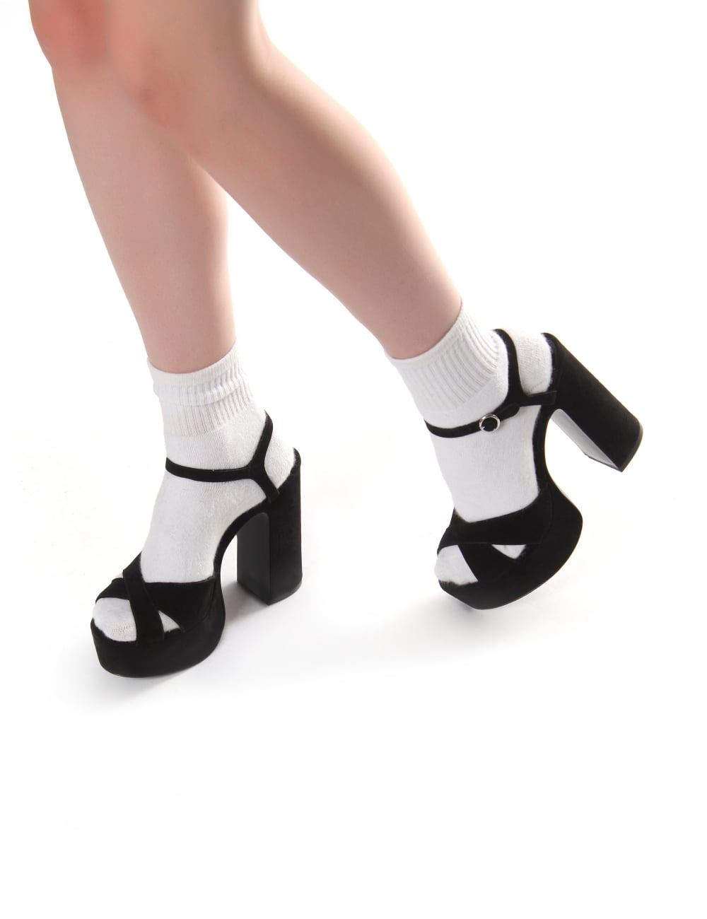 39d363424b0fe Lust Women's Suede Platform Sandals