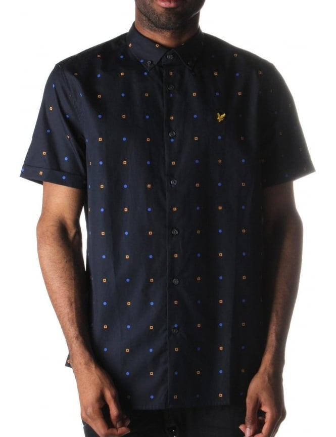 Lyle & Scott Archive Men's Micro Print Shirt