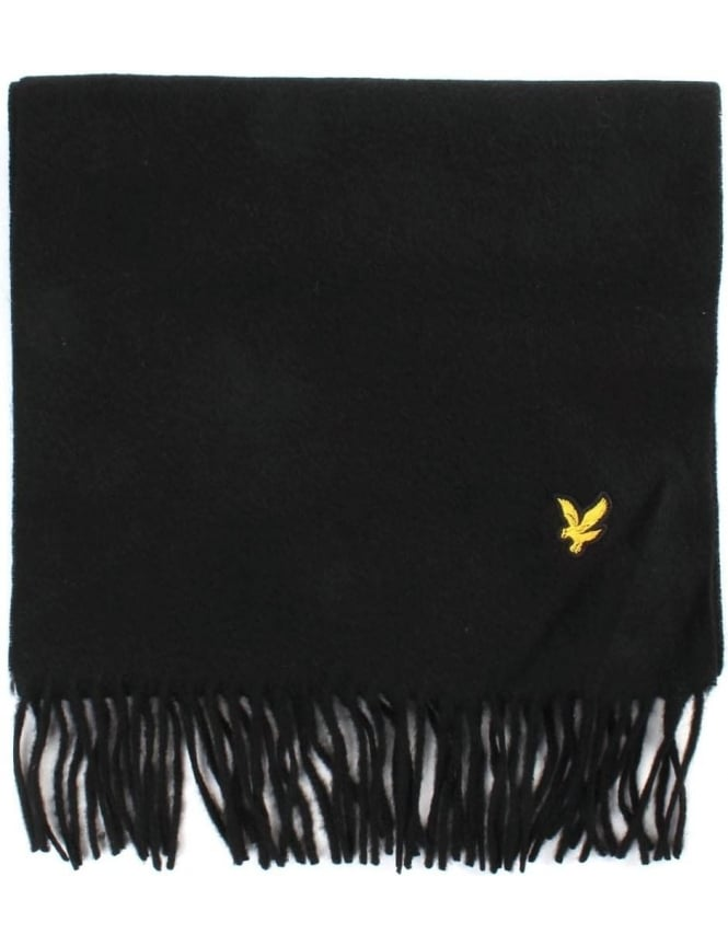 Lyle & Scott Plain Lambswool Men's Scarf