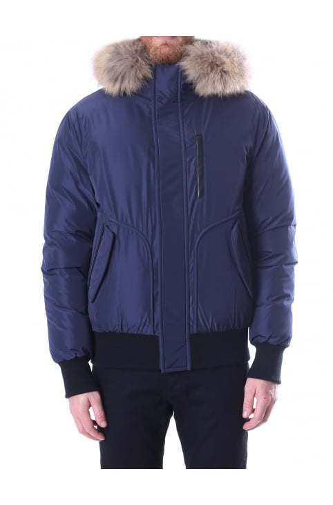 Florian Men's Down Bomber Jacket