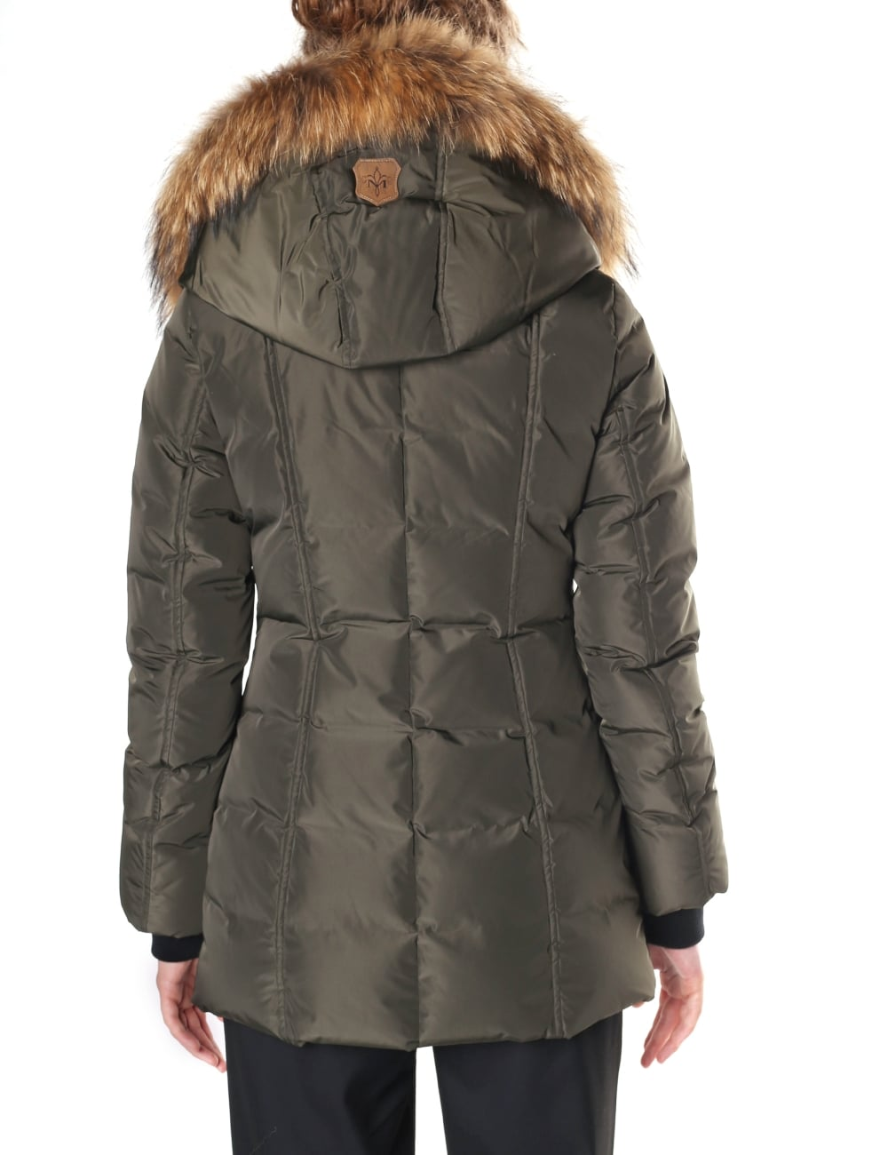 21a803f36e09 Mackage Women s Adali Fitted Winter Down Coat With Fur