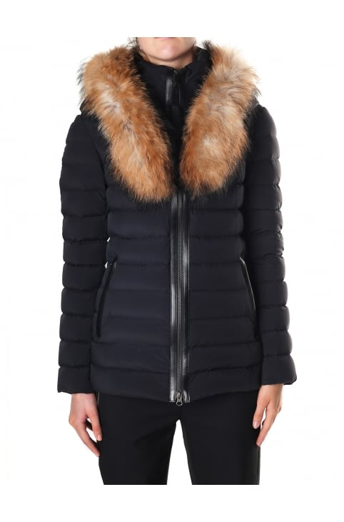 Women's Kadalina Light Down Jacket With Fur