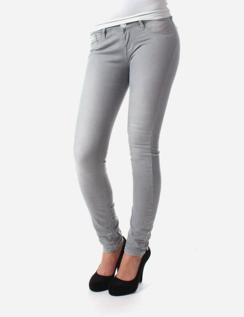 Grey Jeans Womens Outfit