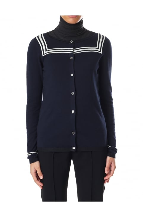 Women's Sailor Detail Cardigan