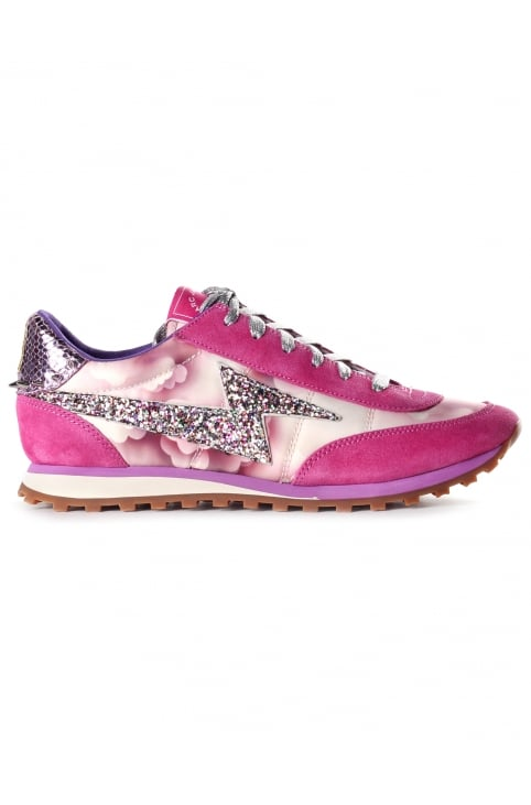 Astor Lightening Bolt Jogger Women's Trainer Pink Multi