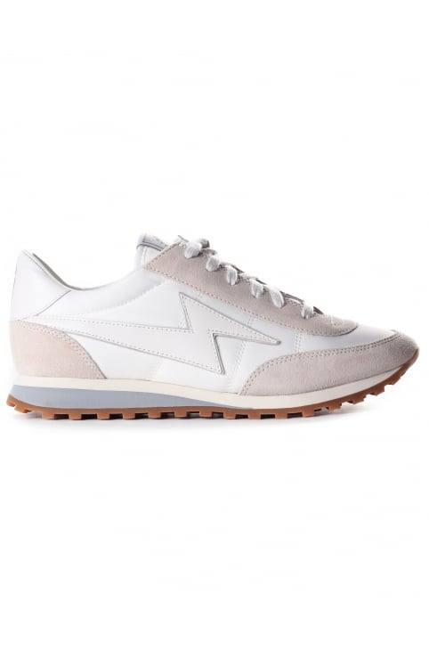 Astor Lightening Bolt Jogger Women's Trainer White