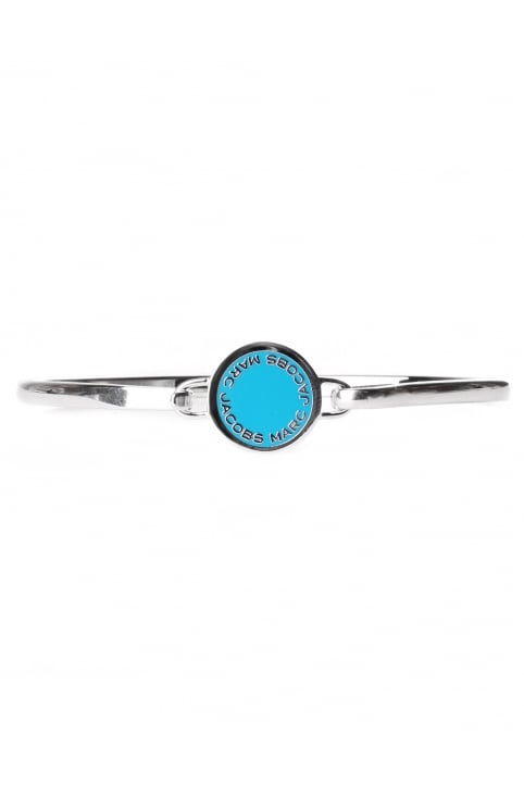 Marc Jacobs Enamel Logo Disc Women's Bracelet Blue