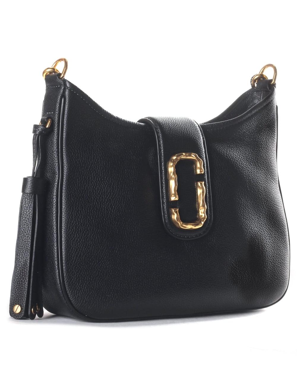 ed39e559d656 Marc Jacobs Interlock Women s Small Hobo Bag Black