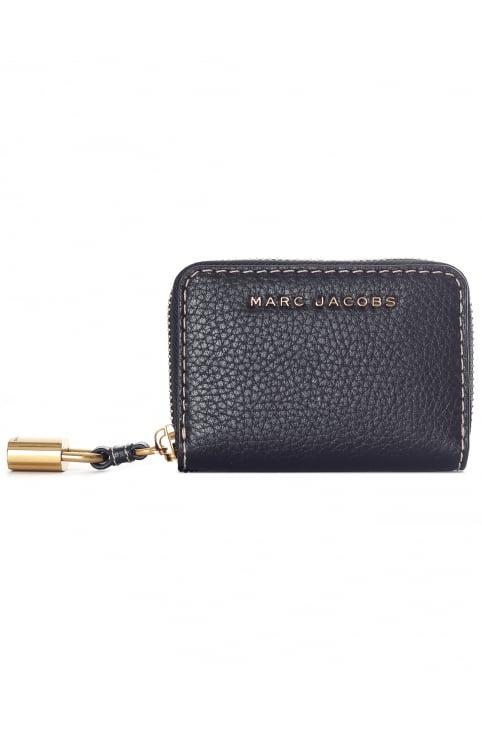 Carte Mini Zip Noir Et Rose Cas Marc Jacobs YOyVM