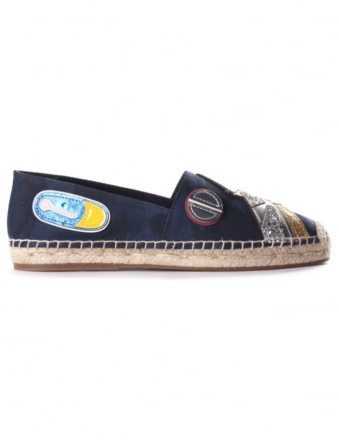Marc Jacobs Sienna Frog Women's Flat Espadrille