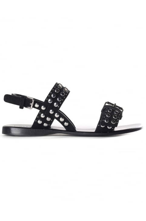 Tawny Women's Flat Studded Sandals