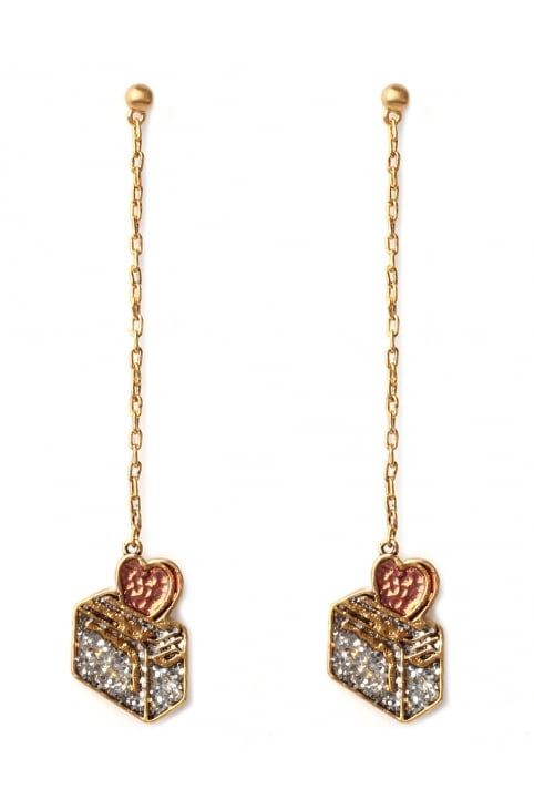 Toast My Heart Women's Drop Earrings