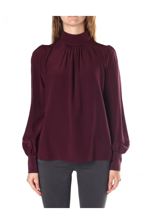 Women's Bishop Sleeve Blouse