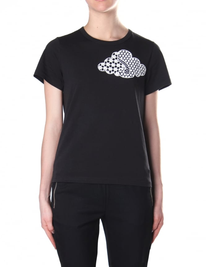 Marc Jacobs Women's Embroidered Cloud Classic Tee