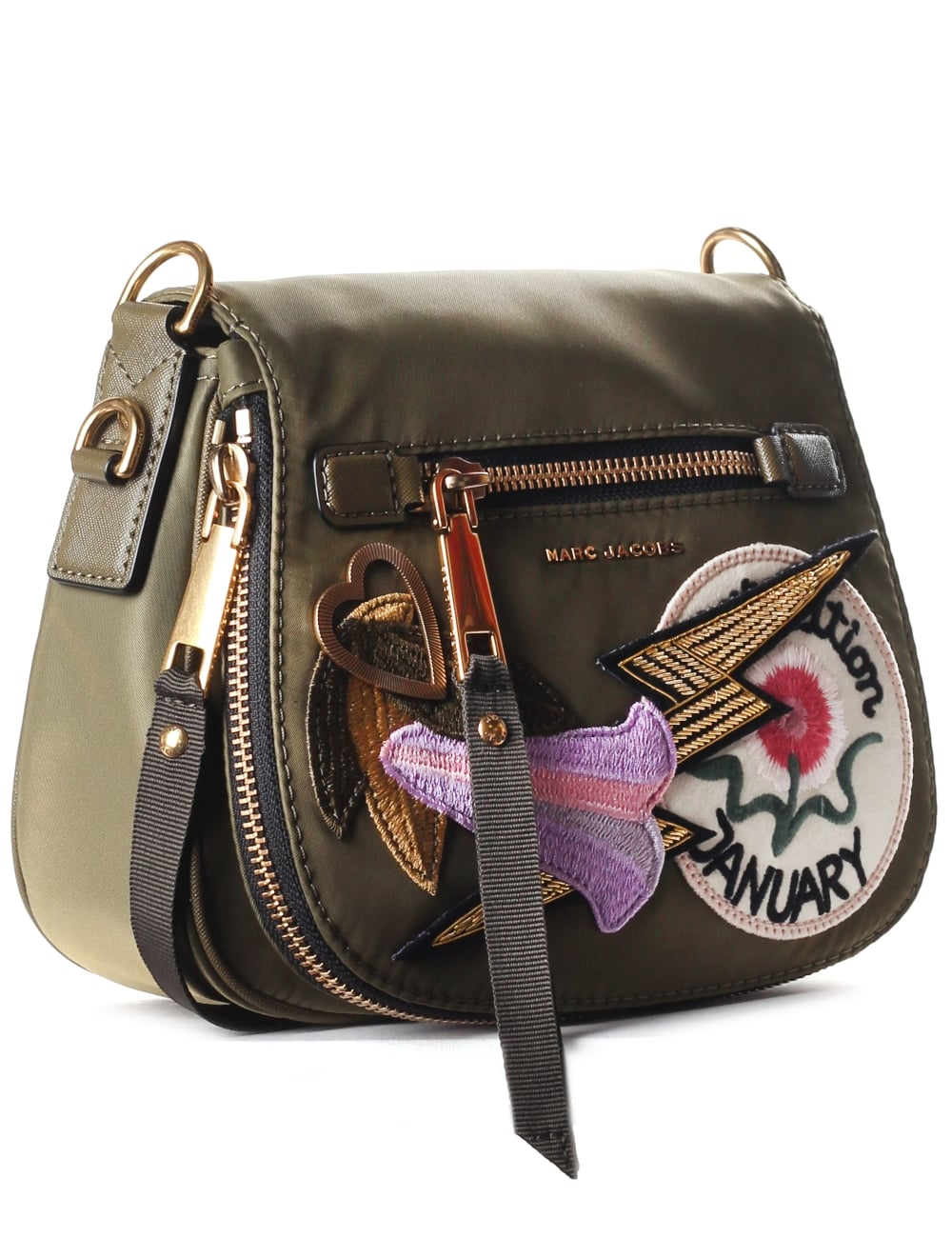 Marc Jacobs Women s Nylon Small Patchwork Nomad Saddle 15f938b1a