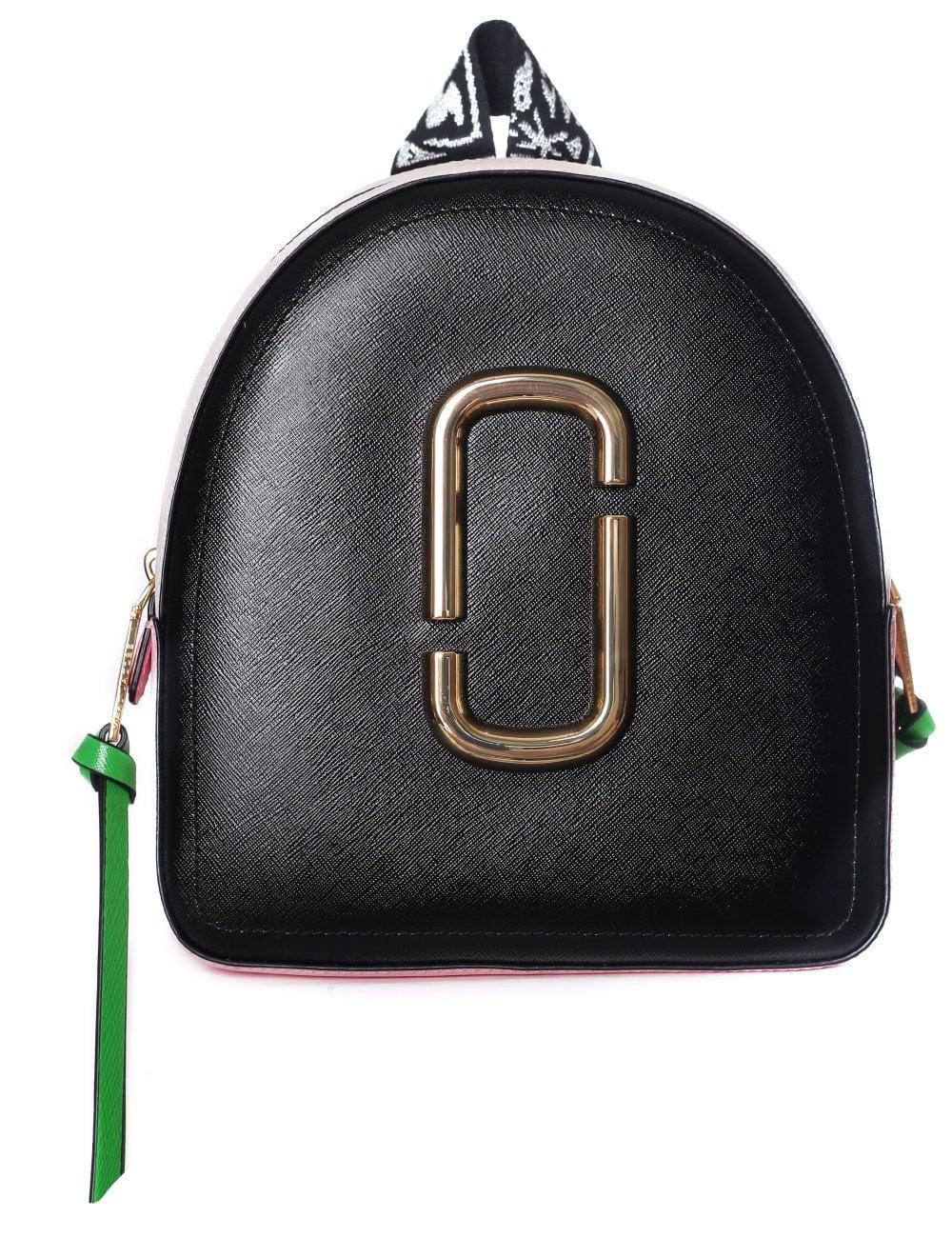 5ca39b422a30 Marc Jacob Women s Pack Shot Double J Logo Backpack
