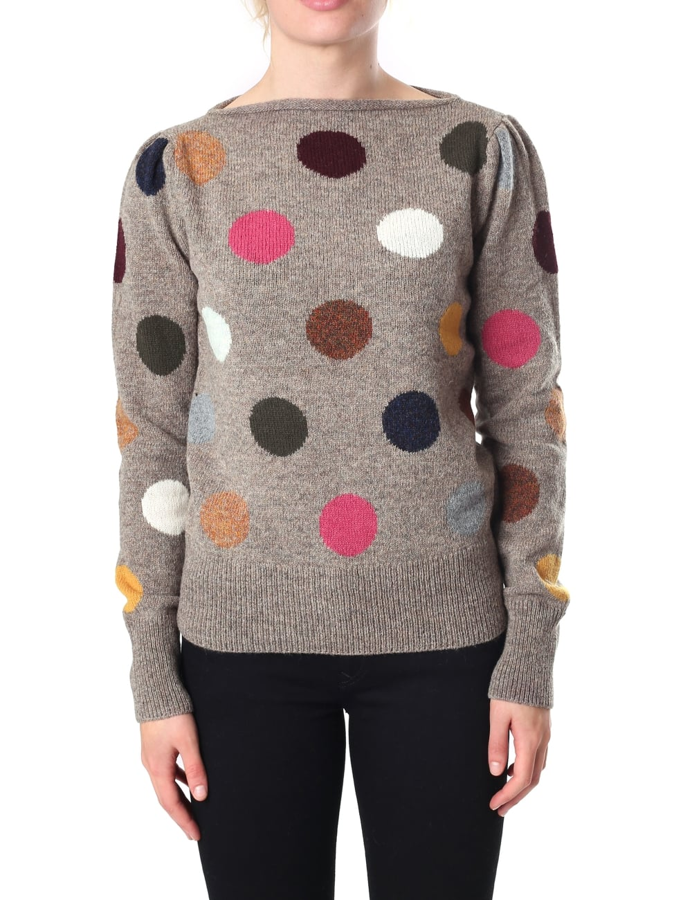Marc Jacobs Womens Polka Dot Sweater