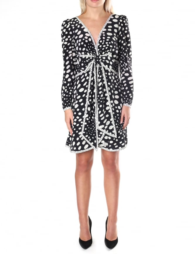 Marc Jacobs Women's Spotted Waist Bow Dress