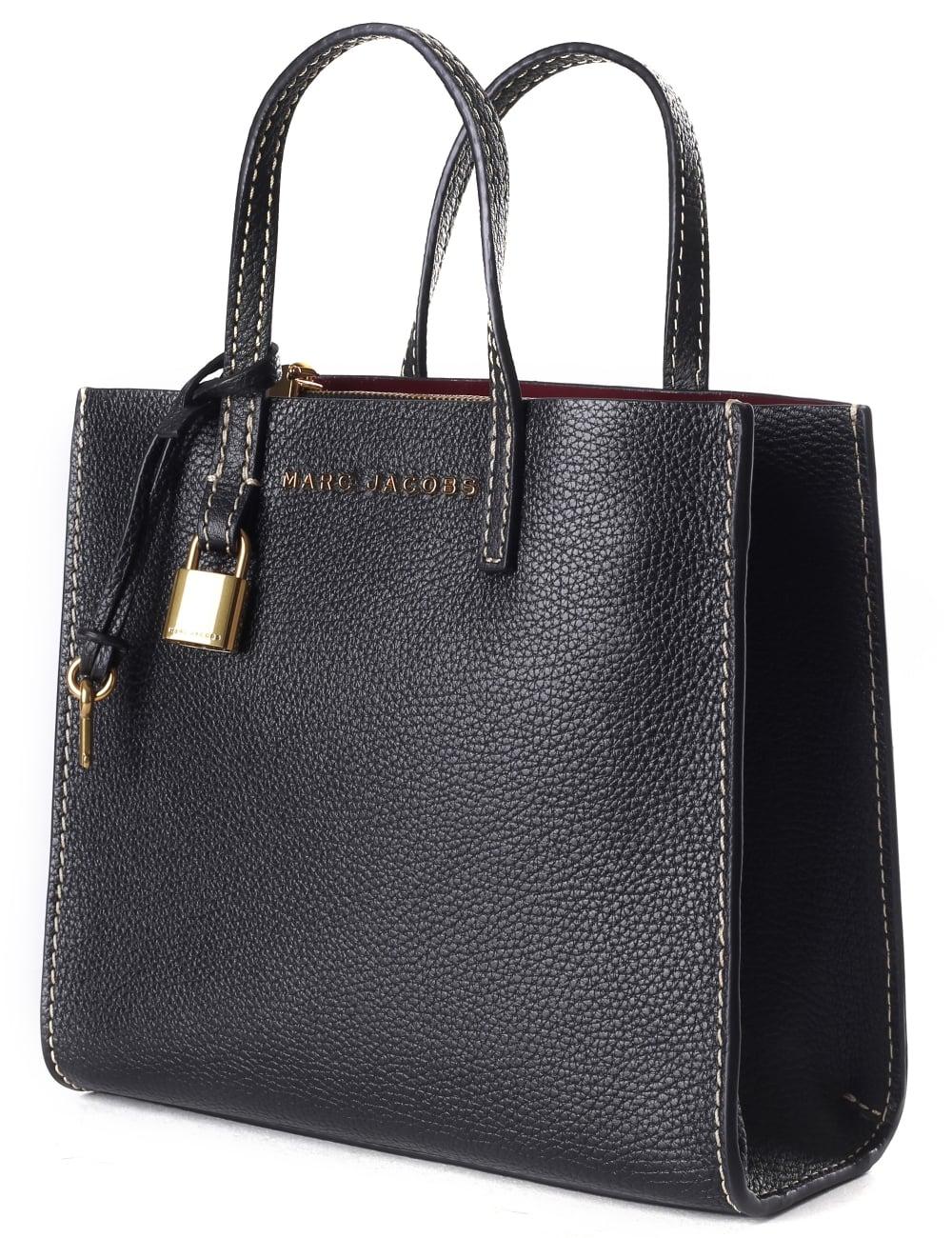 23c4ecf2dc2f Marc Jacobs Women s The Mini Grind Bag Black Gold