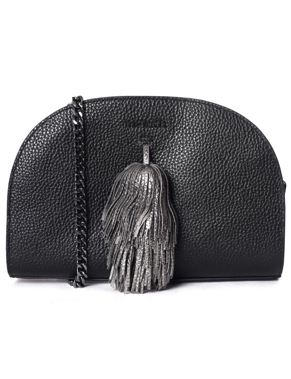035fe6836 Ted Baker Marry Leather Pom Pom Bag Black