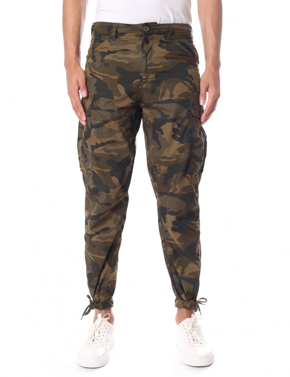 official site new product hot-selling genuine Junk De Luxe Marsh Men's Camo Military Pants