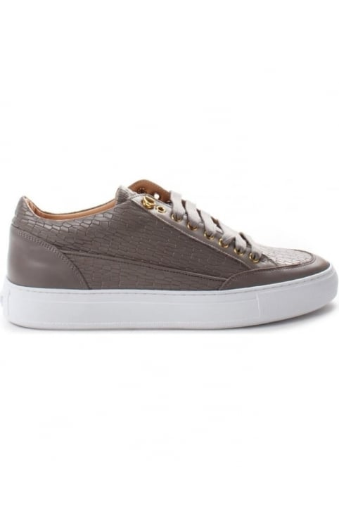 Tia Mens Suavage Asvalto Low Trainer Grey