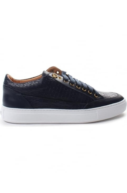 Tia Mens Suavage Asvalto Low Trainer Navy